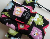 Night Owls Fabric Washable Zipper Pocket Galaxy Iphone Armband Arm Band Work Out Gadget Cell Phone Sports Case Pouch Waterproof Lining