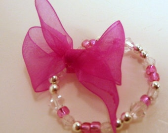 Hot Pink Itty Bitty Bracelet