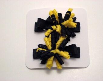 Black and Yellow Itty Bitty Korker Set