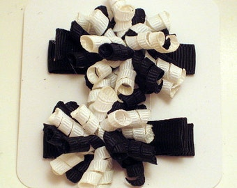 Black and White Itty Bitty Koker Set