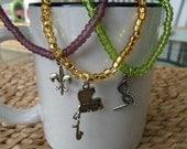 Mardi Gras Bracelet Set