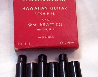 Synchrotone Hawaiian Guitar Pitch Pipe A-440  for Hawaiian guitar