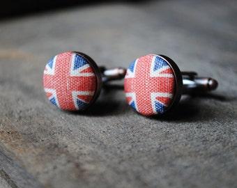 Vintage Union Jack cufflinks