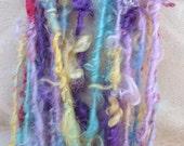New Roller Coaster Handspun Mohair Art Yarn