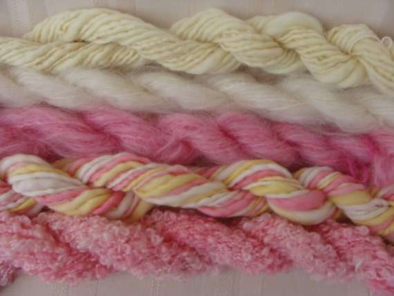 Assorted Mohair Boucle Mini skeins Yarn No.67