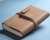 Leather Journal Diary - Nubuck