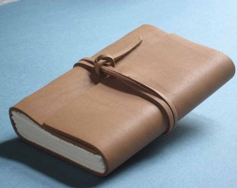 Leather Journal Diary - Nubuck
