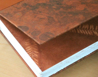Leather Journal Sketchbook - Tan