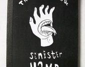 Hand Bound Mini Comic - The Boy with the Sinister Hand