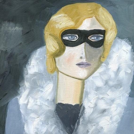 Iris H., incognito.  Limited edition print by Vivienne Strauss.
