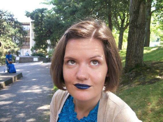Indigo Bridge Dark Blue Lipstick