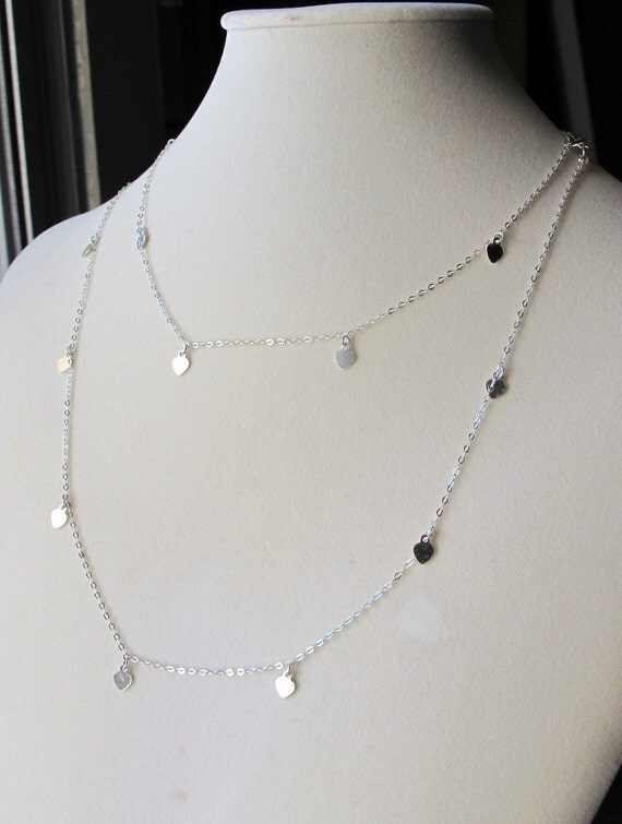 Sterling Silver Double Strand Choker Necklace by Silver Style is rated out of 5 by Rated 2 out of 5 by Vizsla from Nice but too tight Very cute but way too tight/5.