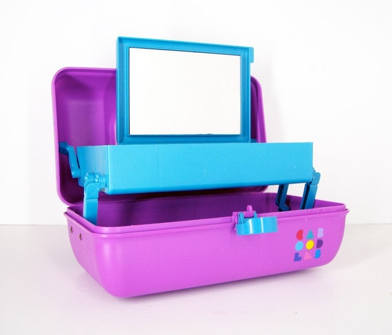 Purple Caboodles Makeup Case