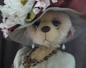 Lady Sarah  Elegant Lady bear booklet and pattern