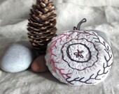 RESERVED for Elena  Hand stitched Lavander Sachet