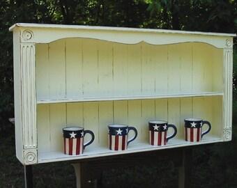 Wall shelf , plate rack