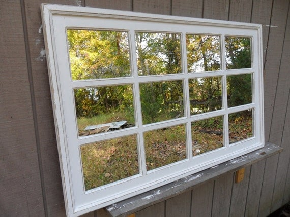 48 X 30 Window Wall Mirror Rectangular Cottage