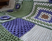 Large Afghan in Granny Squares