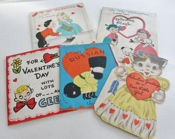 Valentine Cards Vintage Valentines Day Cards Shabby Valentines