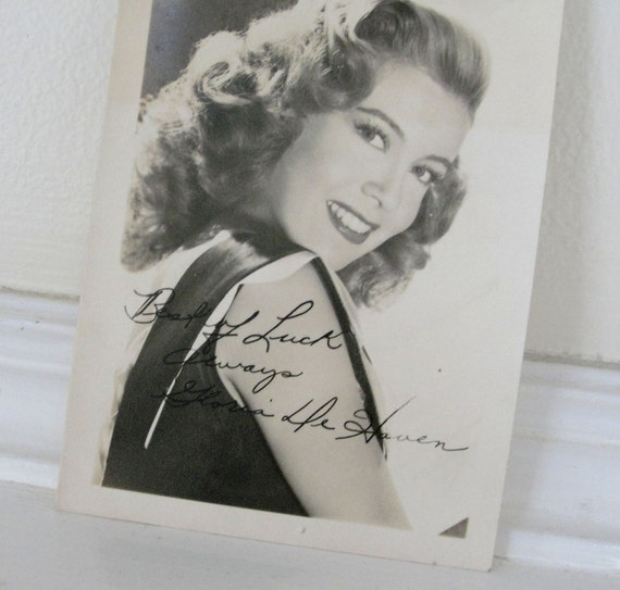 Carter DeHaven Wallpapers Gloria DeHaven Autograph Photograph s Vintage Movie Star Studio