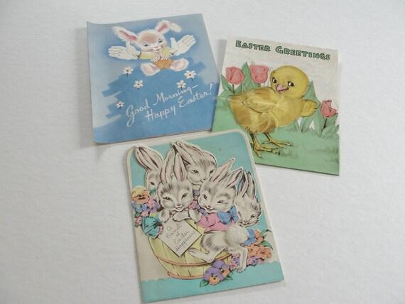 Easter Cards Vintage Easter Cards Funny Easter Bunnies Easter Chicks Vintage Happy Easter Cards