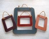 Vintage Rustic Wooden Frames Set of Four Frames Wedding Decor Instant Collection Home Decor