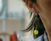 Year End SALE - 28% Off - Lemonade Earrings - Melon - READY TO Ship