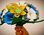 Custom Origami Wedding Bouquets