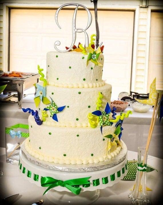 Pinwheel Cake Decor-Made to Order