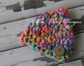 Crazy Color Gnome...size newborn...OOAK