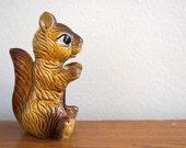 Squirrel--Woodland Friend--Vintage Collectible--1970s