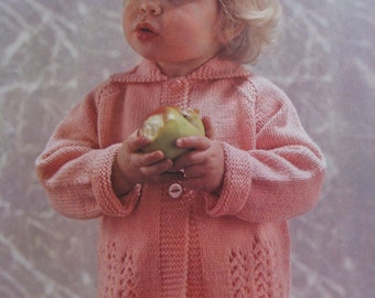 Vintage Knit Pattern Toddler Sweater 6177 PDF Pattern