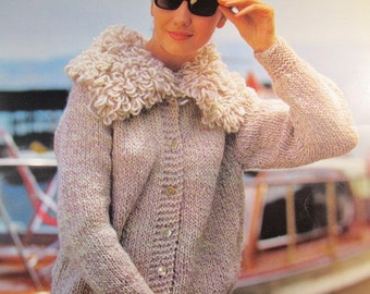1960's Knitting Patterns, PDF Vintage Pattern Women's Sweater 615S