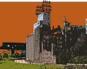 8X10 Set of Three Historic Mill City Prints