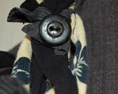 Monochromatic Recycled Jersey Neckwear and Belt