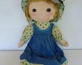 Miss Petticoat Doll 1965 Cloth Doll Roth Greetings