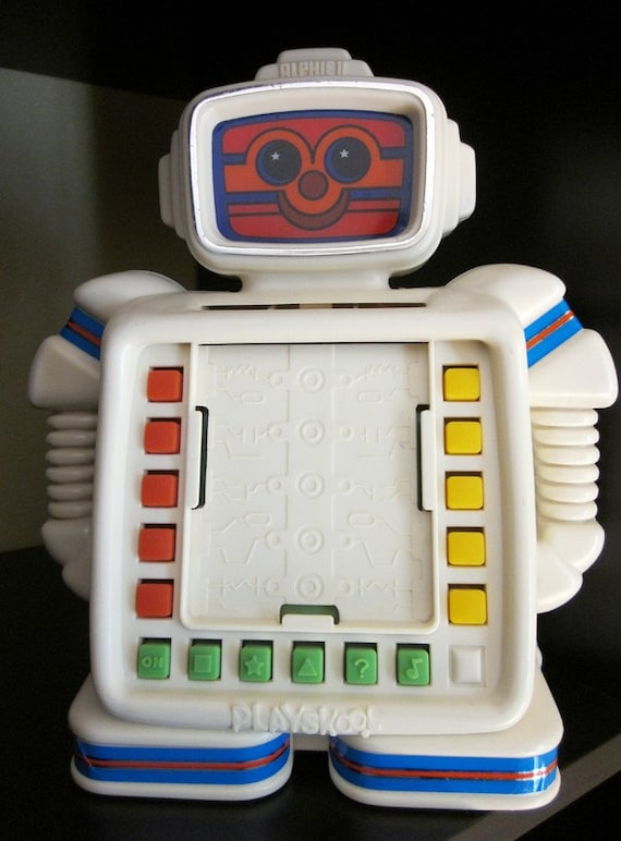 Sale Alphie Ii Robot Game From Playskool
