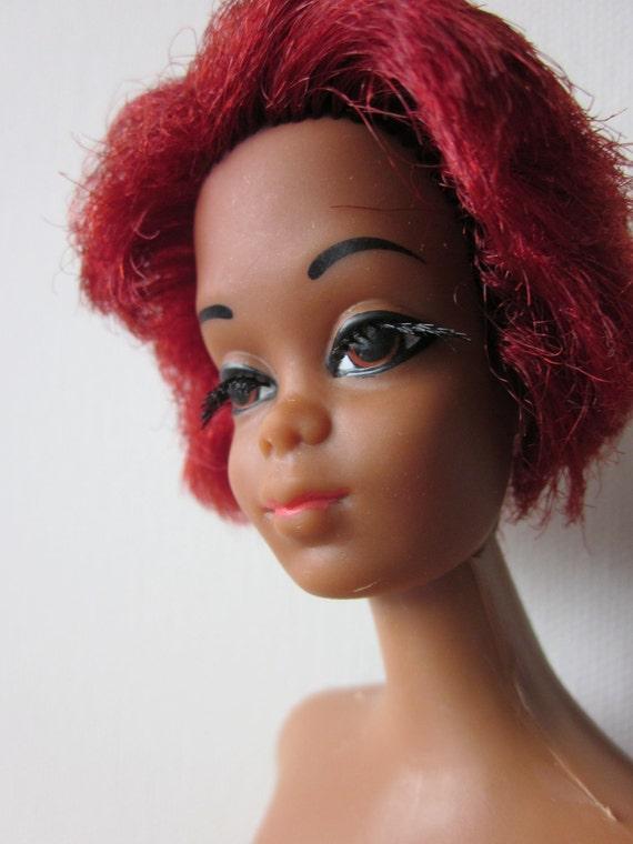 Vintage Mod Talking Christie NRFB #1126 Doll Barbie Pink ... |Christie Barbie Doll