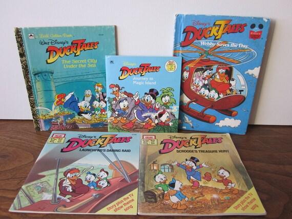 Vintage Duck Tales Books