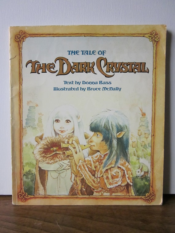 The Tale of The Dark Crystal Vintage Book
