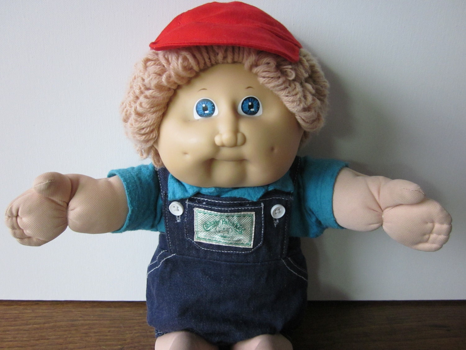Vintage cabbage patch kid boy doll