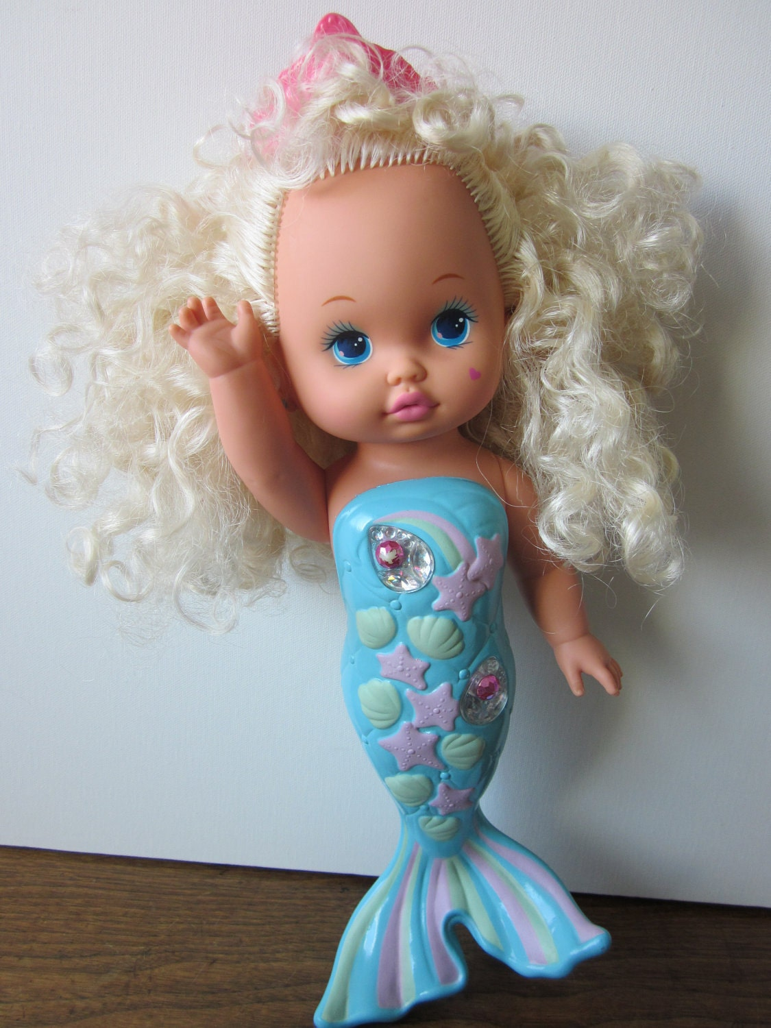 Vintage Li L Miss Singing Mermaid Doll
