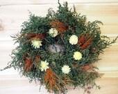 Simple Rustic Herbal Wreath