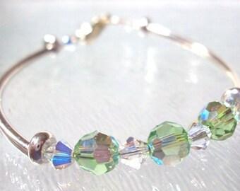 Child's Swarovski August Birthstone Bracelet