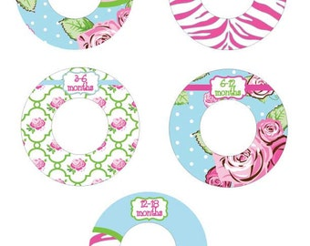 finley baby girl closet dividers