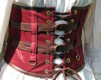 Darions Masquerade Steampunk Wench Belt
