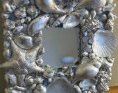 Seashell Mirror  RESERVED FOR PAULA