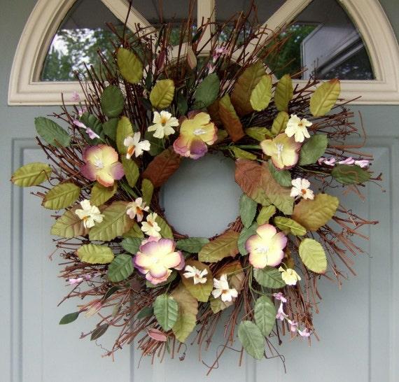 Summer Wreath - Wreath for Door - Year Round Wreath
