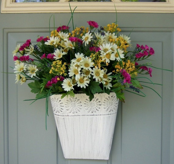 Summer Wreath - Wreath for Door - Door Basket