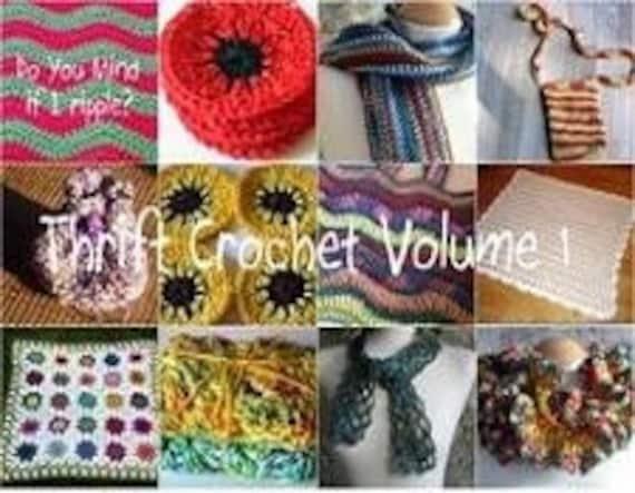 Thrift Crochet Volume 1 Crochet Pattern PDF Collection